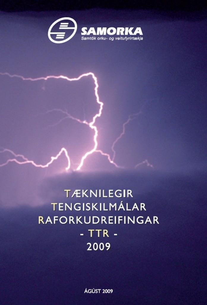 Forsíðumynd - TTR